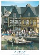 56 - AURAY - CITÉ D'ART ET D'HISTOIRE - LE PORT ET LES VIEILLES MAISONS DE SAINT-GOUSTAN - CPM - VIERGE - - Auray