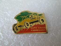PIN'S   AUTO CROSS  FABREGUOIS - Rallye