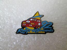 PIN'S    RALLYE DE NORMANDIE  92 - Rallye