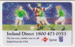 TK 27839 - USA - Prepaid Sprint & Telecom Eireann - Football - United States