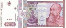 Romania 10000 Lei 1994 Pick 105 UNC - Romania