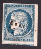 Cérès N° 4 Bleu - Oblitération Losange De Points - 1 Voisin - 1849-1850 Ceres