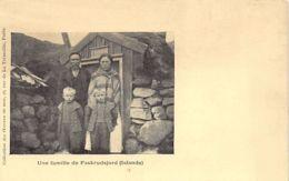Iceland - Family From Faskrudsjordur - Publ. Oeuvres De Mer - Islande
