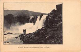 Iceland - Waterfall Near Faskrudsfjordur - Publ. Oeuvres De Mer - Islande