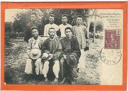 LAOS : Ethnographie, Mandarins Laotiens Aux Hua Pahn - Laos