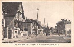 A-20-3231 : LES SABLES D'OLONNE. AVENUE DE LA RUDELIERE - Sables D'Olonne