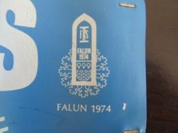 Fédération Internationale De Ski, Brassard Comité Technique Championnats Du Monde De Ski Nordique De Falun 1974 - Wintersport