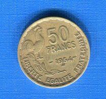 50  Fr  1954 B - Francia