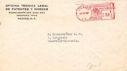 MEXICO - LETTER 1953 MEXICO - OSNABRÜCK/GERMANY /AS105 - Mexiko