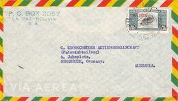 BOLIVIA - AIRMAIL Ca 1950 LA PAZ - OSNABRÜCK/GERMANY /AS107 - Bolivia