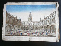 Vue D'Optique/Optische Prent: Vue De La Bourse Royale à LONDRES - Prenten & Gravure