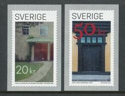 Sweden 2020. Facit # 3320-3321. Dörrar. MNH (**) - Nuovi