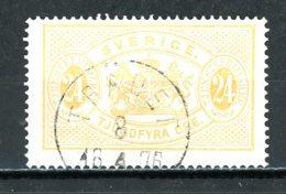 SUEDE   Y&T   S 8B    Obl   ---   Dent. 14  --  Impeccable... - Dienstzegels