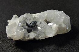 Bornite With Quartz ( 2.5 X 1 X 1 Cm ) Bleida, Zagora Province, Drâa-Tafilalet Region, Morocco - Mineralen
