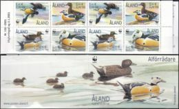 ALAND 2001 Mi-Nr. MH 9 Markenheft/booklet ** MNH - Aland