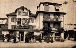 Fotokarte Küssnacht Gasthaus Rigiblick Kanton Schwyz 1914 - SZ Schwyz