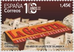 España. Spain. Diarios Centenarios. 100 Años De La Gaceta De Salamanca - 2011-... Nuovi & Linguelle