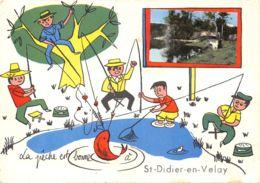 43-SAINT DIDIER EN VELAY-N°579-A/0105 - Saint Didier En Velay