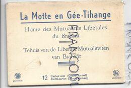 Carnet Complet De 12 Vues Du Home Des Mutualités Libérales à La Motte En Gée, Tihange - Huy