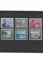 516-ALLEMAGNE-III REICH- 1944 Au Profit Des Postiers Allemands YT 805 à 810 NEUF * - Unused Stamps