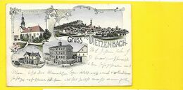 Gruss Aus DIETZENBACH Litho. () Allemagne - Dietzenbach