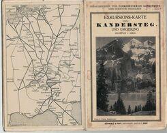Excursion-Karte Kandersteg Und Umgebung 1: 30000 - Berner Oberland - Bern - Mapas Geográficas