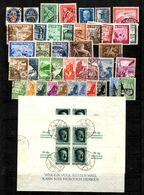 Allemagne/Reich Petite Collection De Bonnes Valeurs Oblitérées 1930/1937. B/TB. A Saisir! - Collections