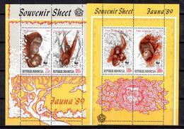 Indonésie Blocs-feuillets YT N° 68/69 Neufs ** MNH. TB. A Saisir! - Indonésie