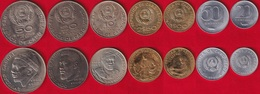 Cape Verde Set Of 7 Coins: 20 Centavos - 50 Escudos 1980 UNC - Kaapverdische Eilanden