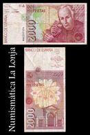 España 2000 Pesetas Celestino Mutis 1992 (1996) Pick 164r Replacement 9D BC F - [ 4] 1975-… : Juan Carlos I