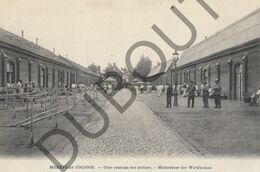 Postkaart-Carte Postale - MERKSPLAS Colonie - Cour Centrale Des Ateliers (B672) - Merksplas