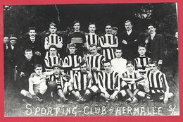 HERMALLE /SOUS ARGENTEAU  -   L'équipe De Football - Oupeye