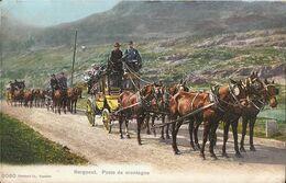 Suisse - Bergpost - Poste De Montagne - Malle-poste - Diligence - Attelage De Chevaux - Schweiz