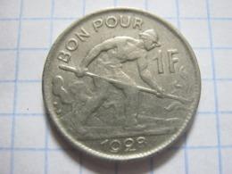 1 Franc 1928 - Lussemburgo