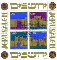1971 ISRAELE BF 8 USATO - Blocs-feuillets