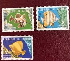 DJIBOUTI 1978 3 V Neuf MNH ** YT 488 489 490 Pesce Poisson Fish Pez Fische Djibouti - Pesci