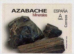 Spain - 2020 - Minerals - Jet Gemstone - Mint Self-adhesive Stamp - 1931-Today: 2nd Rep - ... Juan Carlos I
