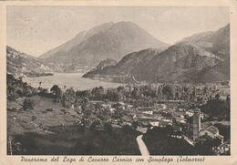 PANORAMA DEL LAGO DI CAVAZZO CARNICO CON SOMPLAGO - TOLMEZZO - Udine