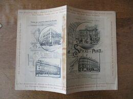 SPIERS & POND REFRESHMENT CONTRACTORS EXPOSITION UNIVERSELLE DE PARIS GRILL ROOM CARTE DU JOUR 23 AOÛT 1889 - Menükarten