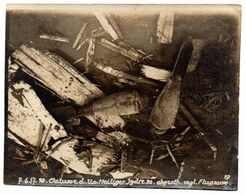 Geluwe : Duitse Foto 9 X 11 Cm 1ste WO - Autres