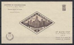 ESPAÑA BENEFICIENCIA 1937 Nº 17 NUEVO CON PUNTOS DE OXIDO - Bienfaisance