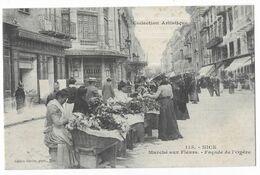 Nice Marché Aux Fleurs Boucherie Normande - Marchés, Fêtes