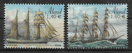 Aland  2019  Mi.Nr. 446 / 47 , Segelschiffe Vineta + Parma - Postfrisch / MNH / (**) - Aland
