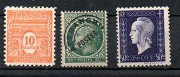G153 France N° 629 + 701 (préo Offert) ** à 10% De La Côte . A Saisir !!! - Unused Stamps