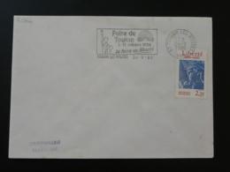 83 Var Toulon Statue De La Liberté Statue Of Liberty 1986 - Flamme Concordante Sur Lettre Postmark On Cover - Denkmäler