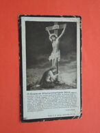 Maria Bossier - Vanhuyse Geboren Te Gheluwe 1864 En Aldaar Overleden  1929 (2scans) - Religion & Esotérisme
