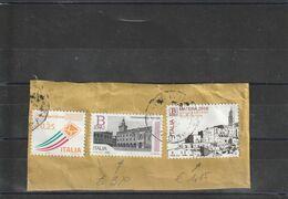 Repubblica - Storia Postale - Usato Su Frammento  - - 6. 1946-.. Republik