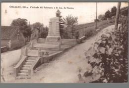 CPA 01 - Challex - Monument Aux Morts - Ohne Zuordnung