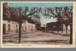 CPA 89 - Champcevrais - Route D'Aillant - Francia