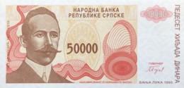 Bosnia 50.000 Dinara, P-153 (1993) - UNC - Bosnia And Herzegovina